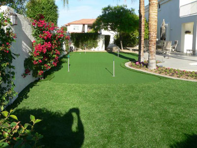 artificial putting green lawn turf