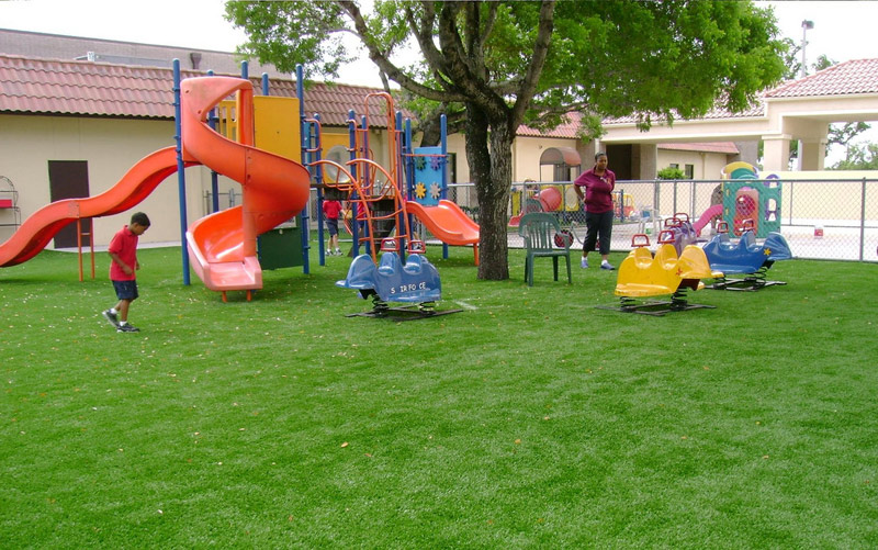 Synthetic Play Ground Turf, Artificial Grass for Playgrounds