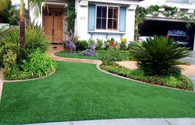 artificial landscape lawns